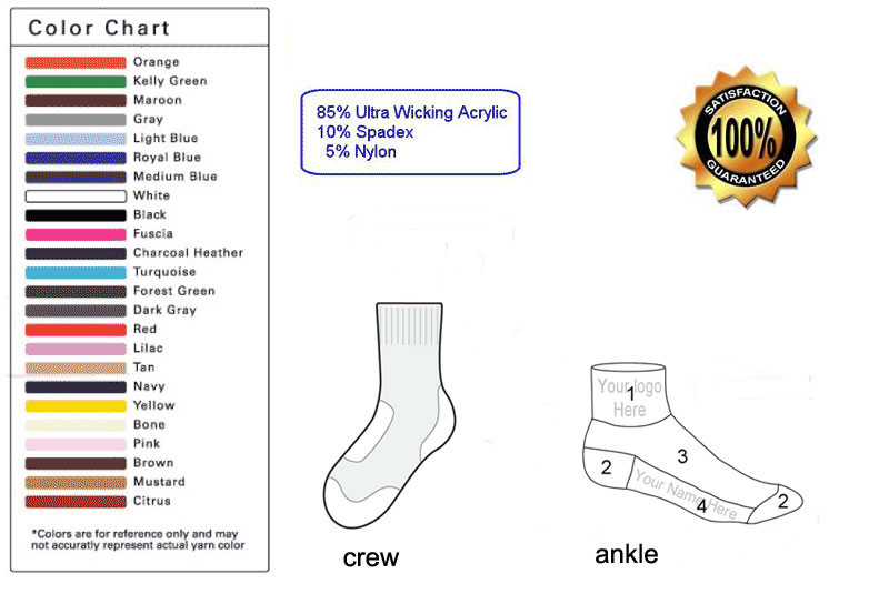 custom cycling sock template