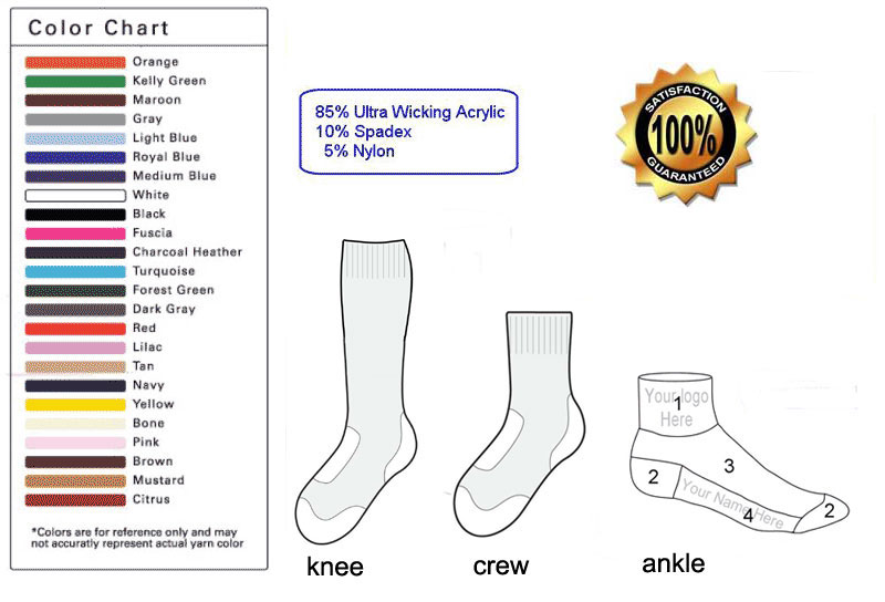 personalized sock template